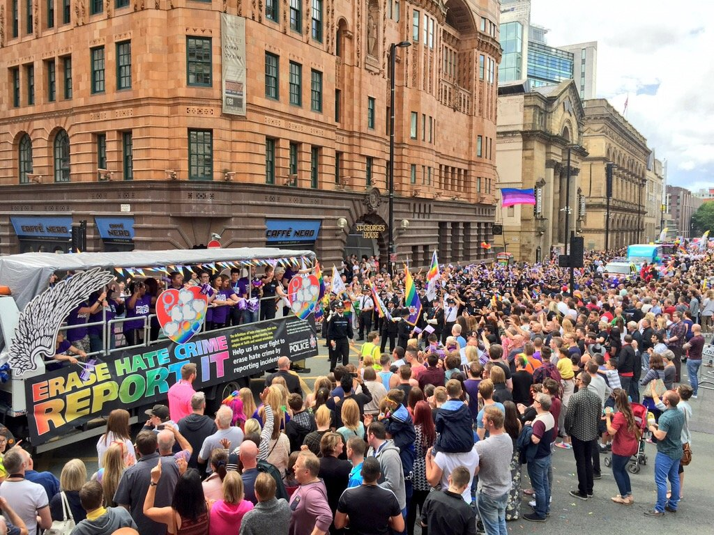 Gay Pride in Manchester
