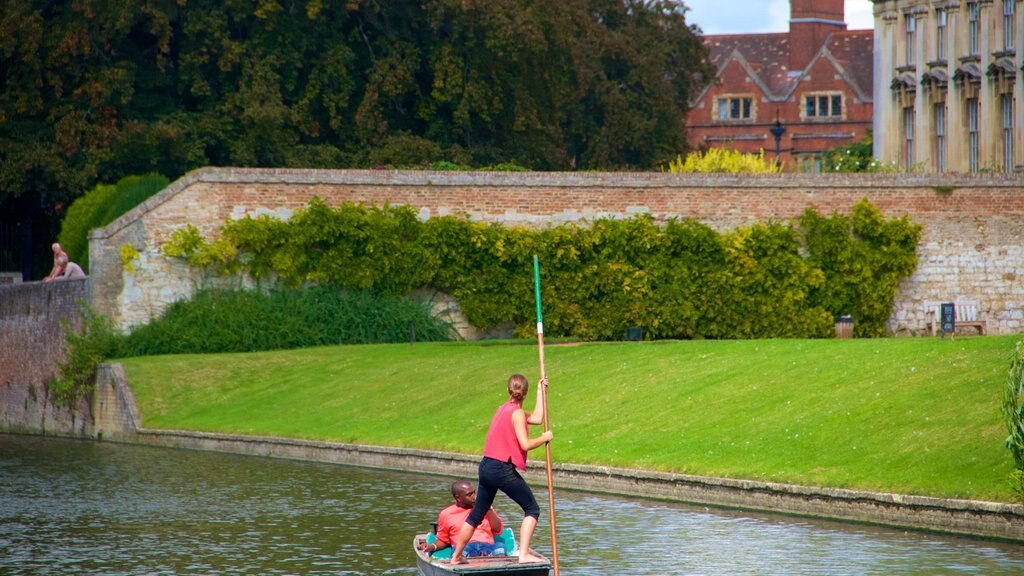 King\'s College which includes a lake or waterhole and kayaking or canoeing as well as a couple