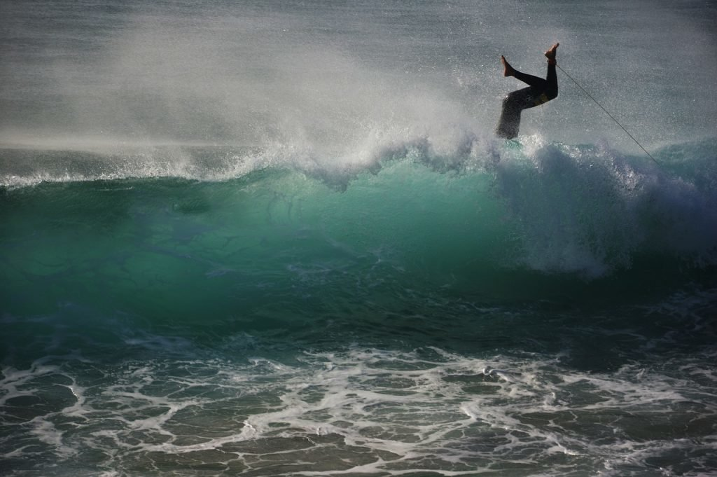 Surfer in Tarifa