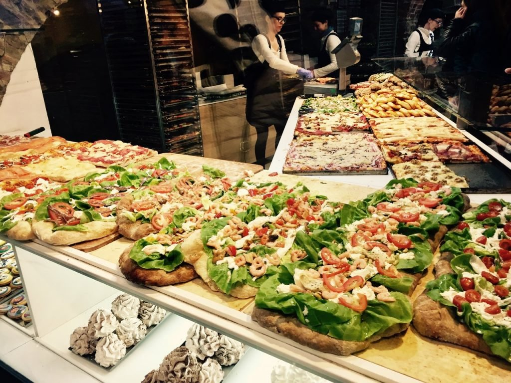Pizza in Bergamo