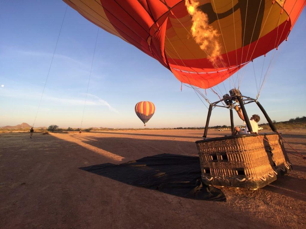 Ballonfahrt in Arizona
