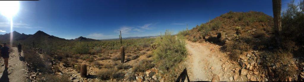 In der Wüste in Arizona