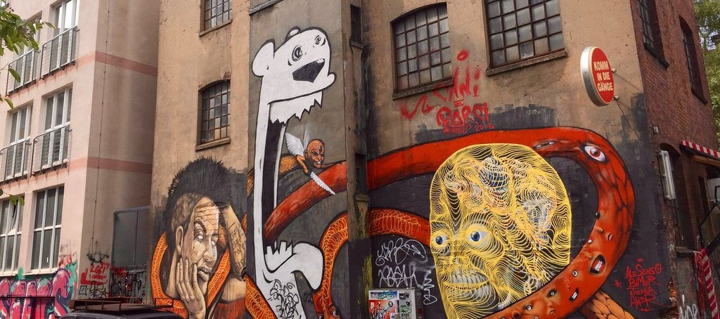 Gängeviertel in Hamburg