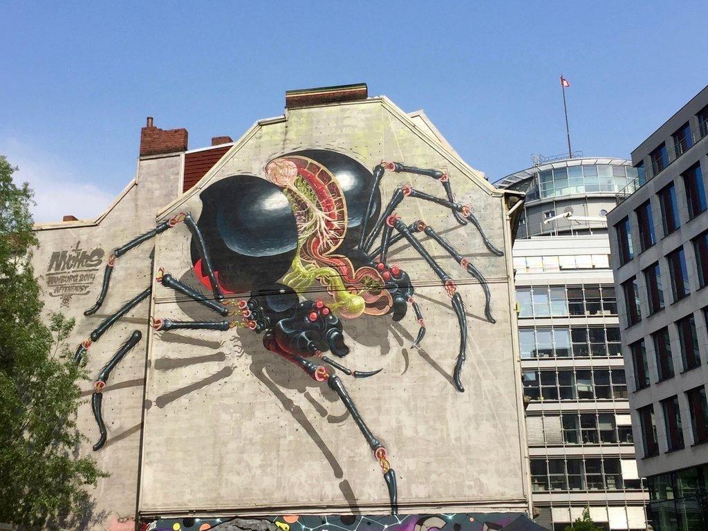 Black Widow in Hamburg
