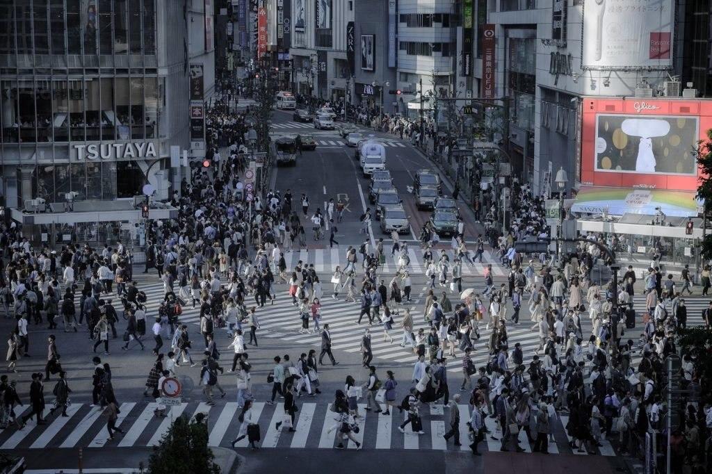 Kreuzung in Tokyo