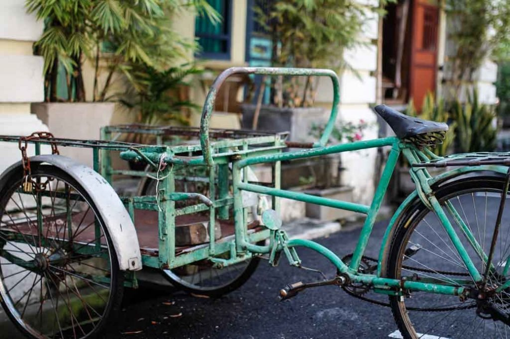 Freight Bicycle in Penang, Malaysia