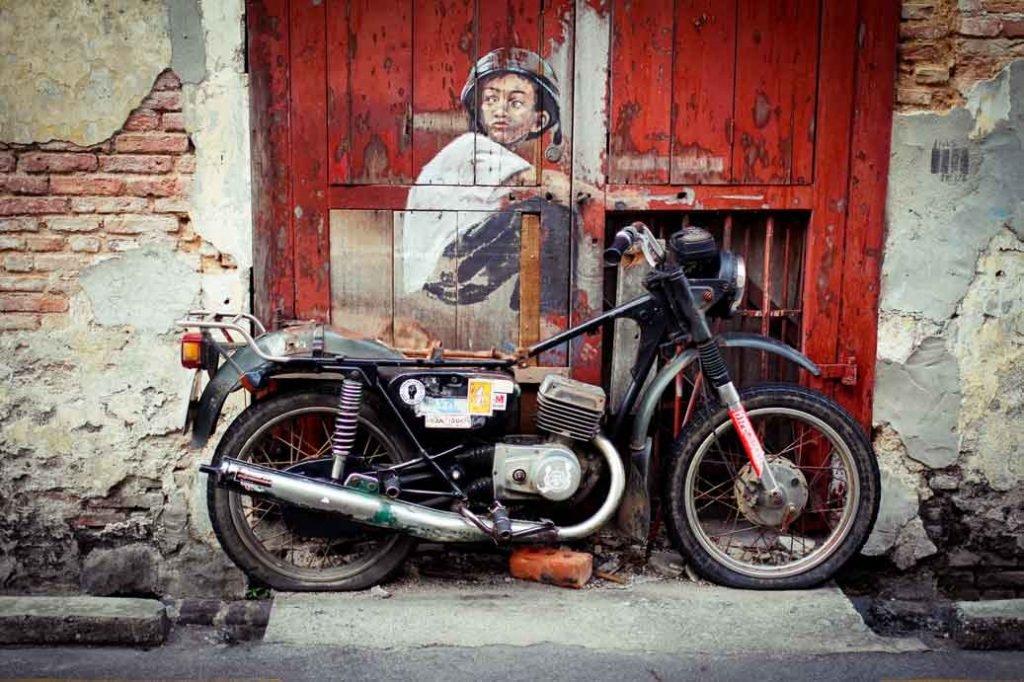 Street Art auf Penang in Malaysia