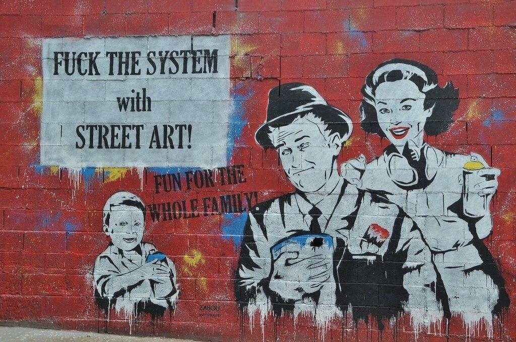 Streetart in Barcelona