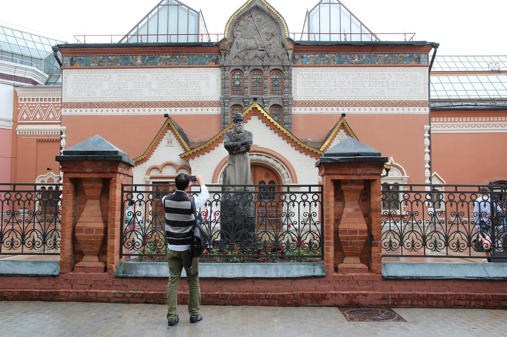 Tretjakow-Galerie in Moskau