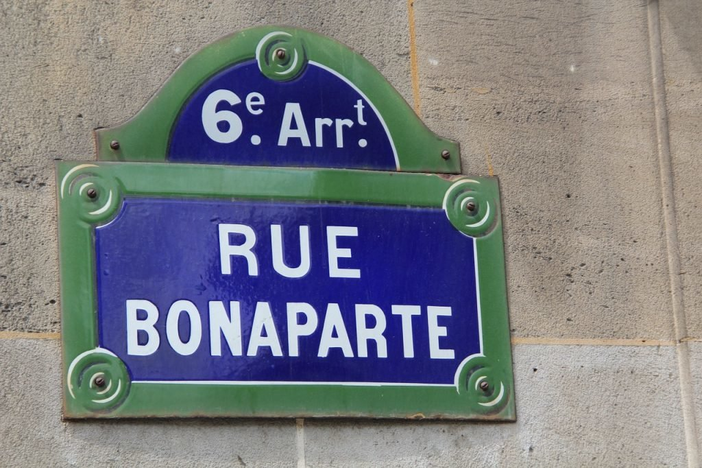 Rue Bonaparte Paris
