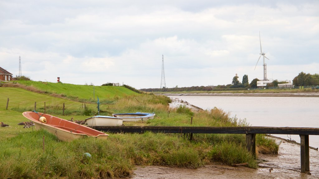 King\'s Lynn showing boating, tranquil scenes and a river or creek