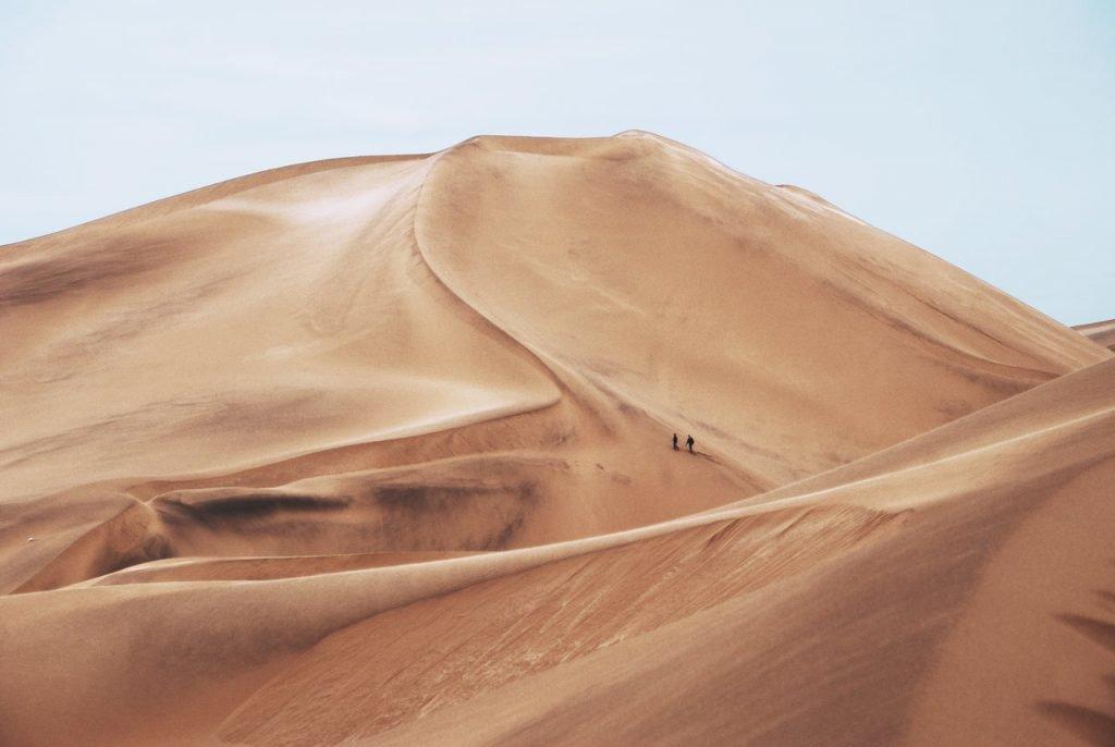 Sossusvlei in der Namibwüste