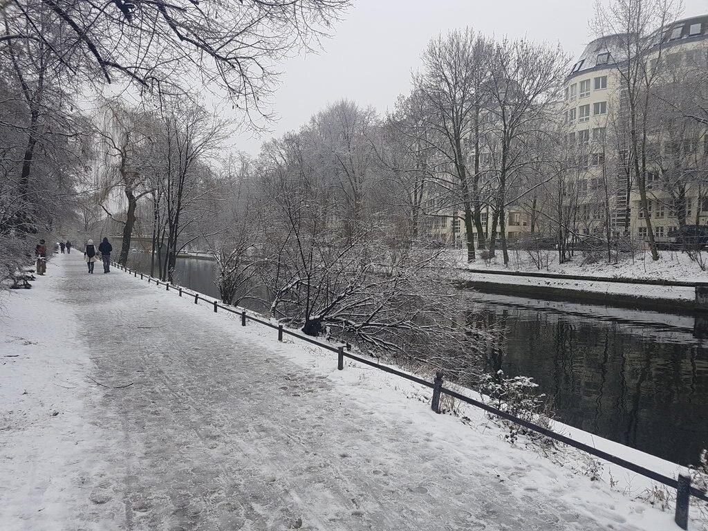 Landwehrkanal in Berlin-Kreuzberg
