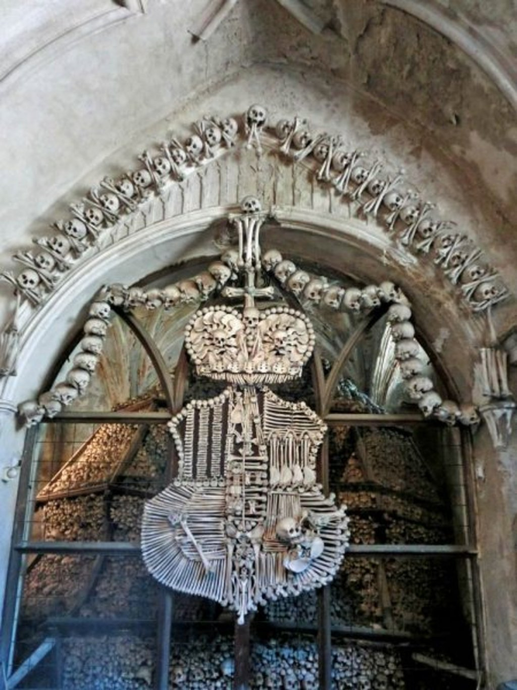 Knochenwappen in Kutna Hora