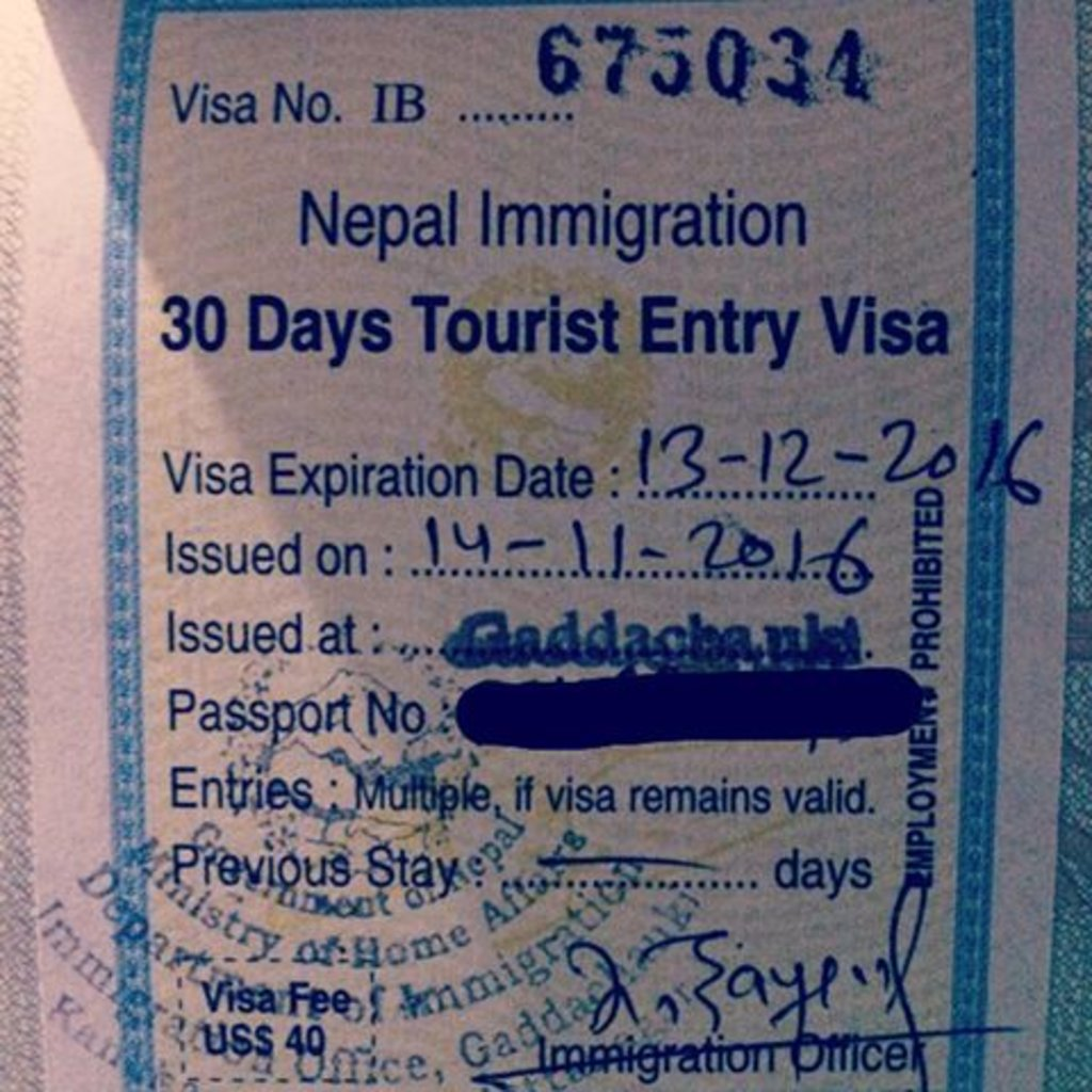visa_nepal