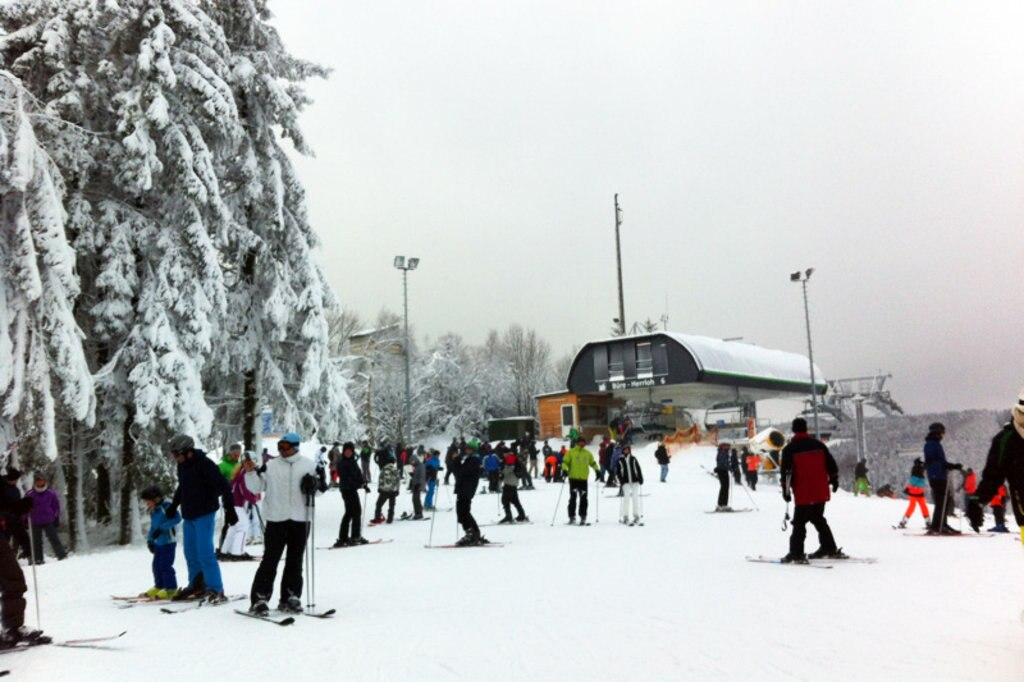 Skikarussell Winterberg Skifahren-skigebiet