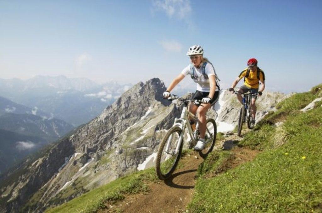 Mountain Biking in den deutschen Alpen