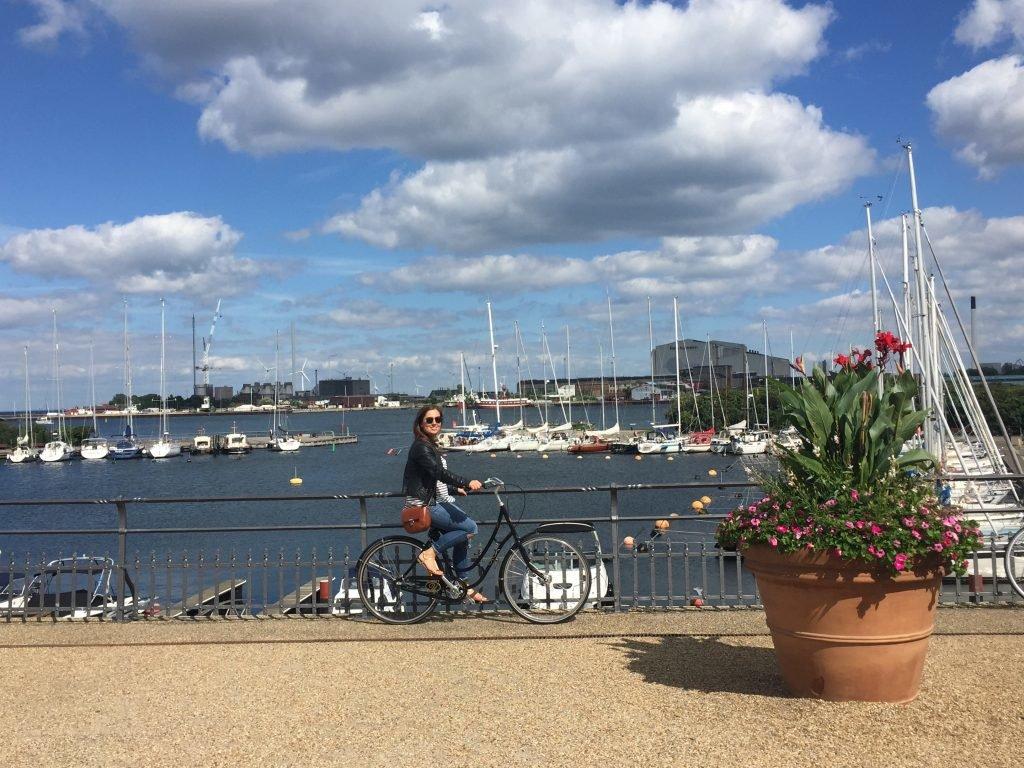 Fahrradfahren in Kopenhagen