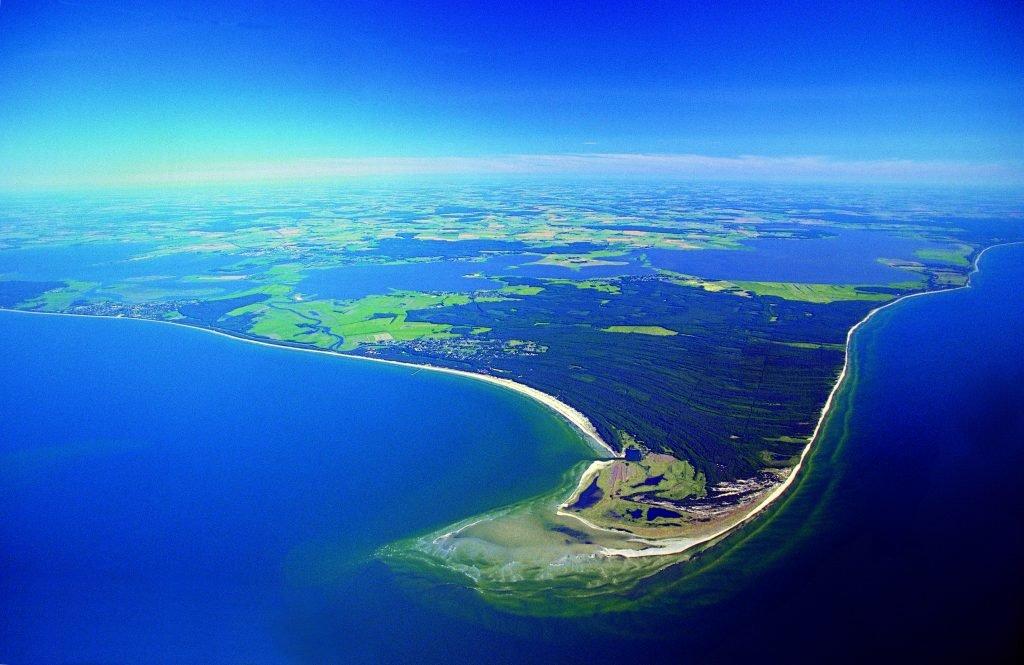 Fischland Luftbild