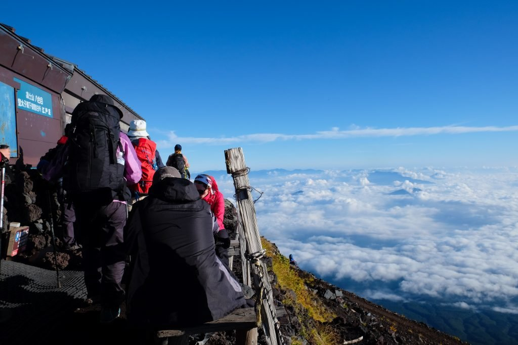 Aufstieg Fuji-san