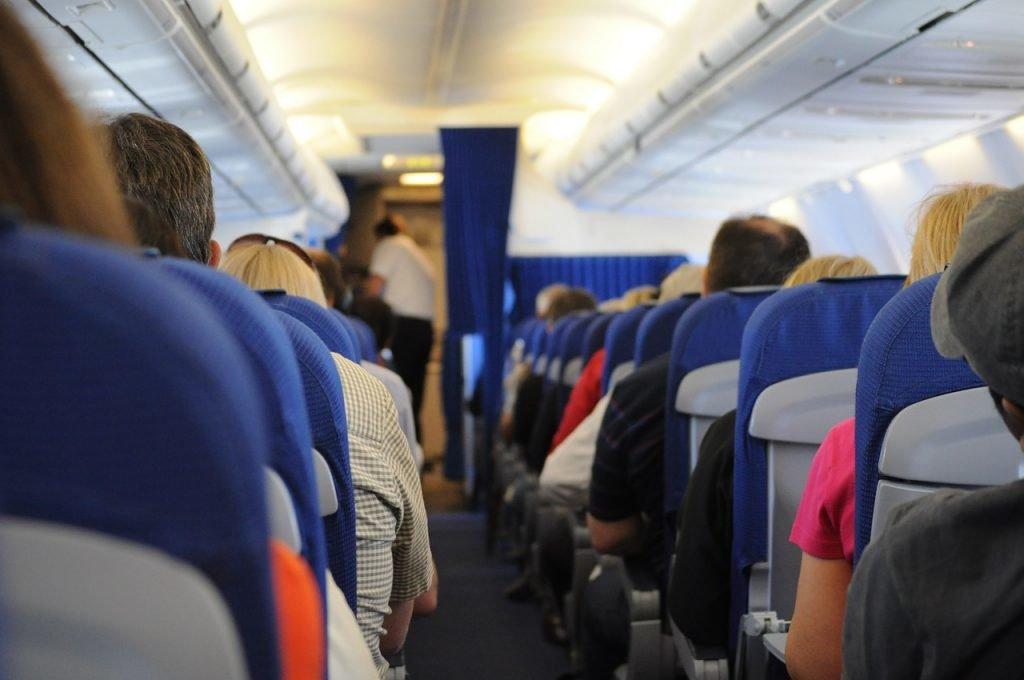 Gang im Flugzeug
