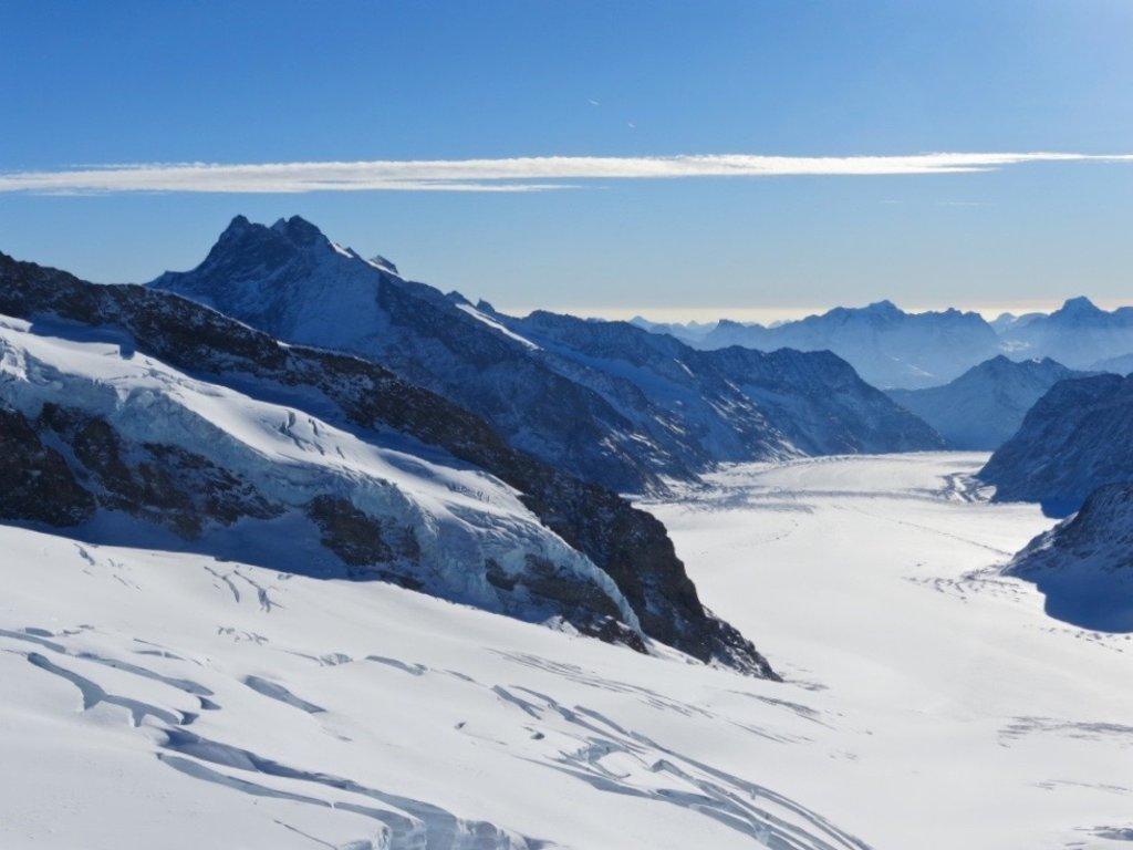 blick-auf-den-gletscher-auf-dem-jungfraujoch, Schweiz