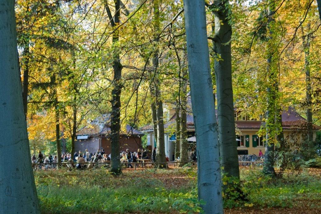 Park des Siebentischwaldes Augsburg