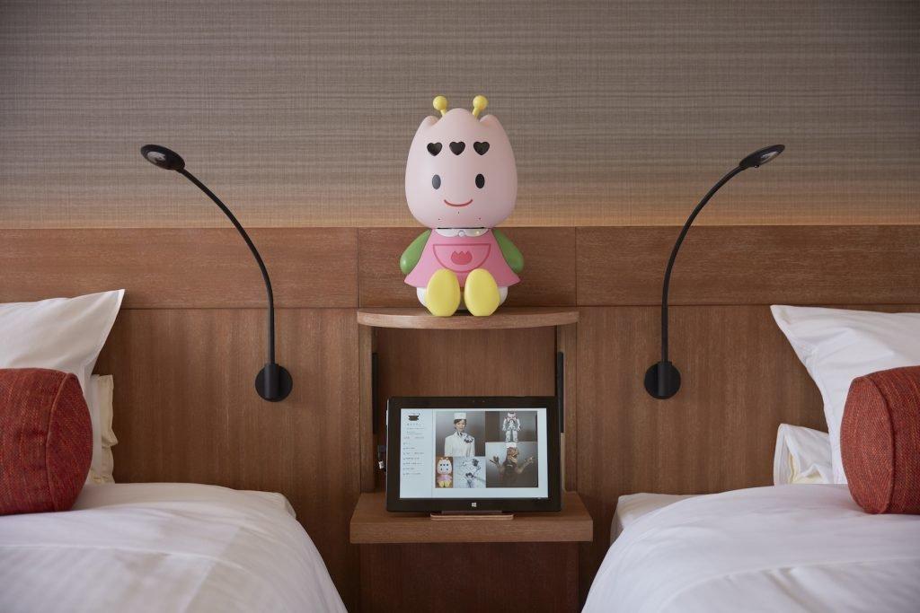 Henn na Hotel, Zimmer