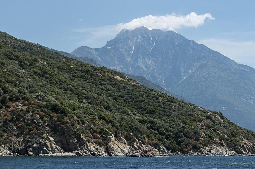 Berg Athos, Griechenland