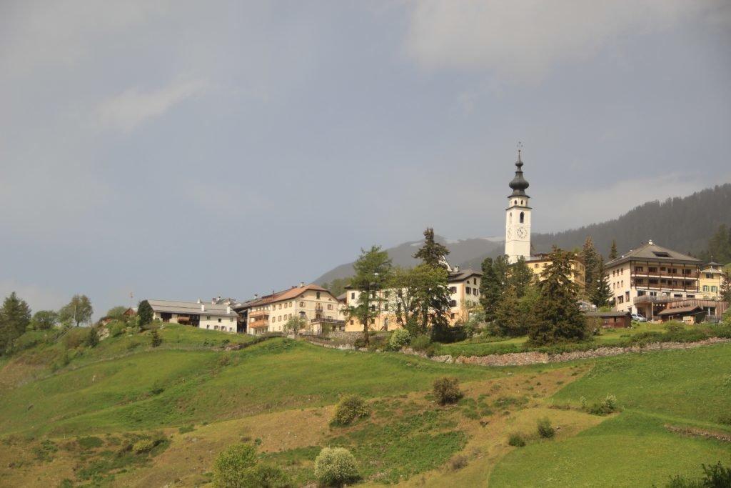 Heidis Dorf Graubünden in der Schweiz