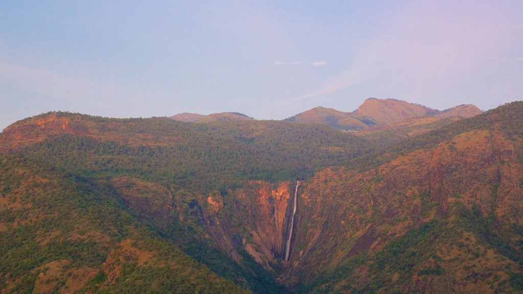 Kodaikanal which includes a sunset, landscape views and mountains