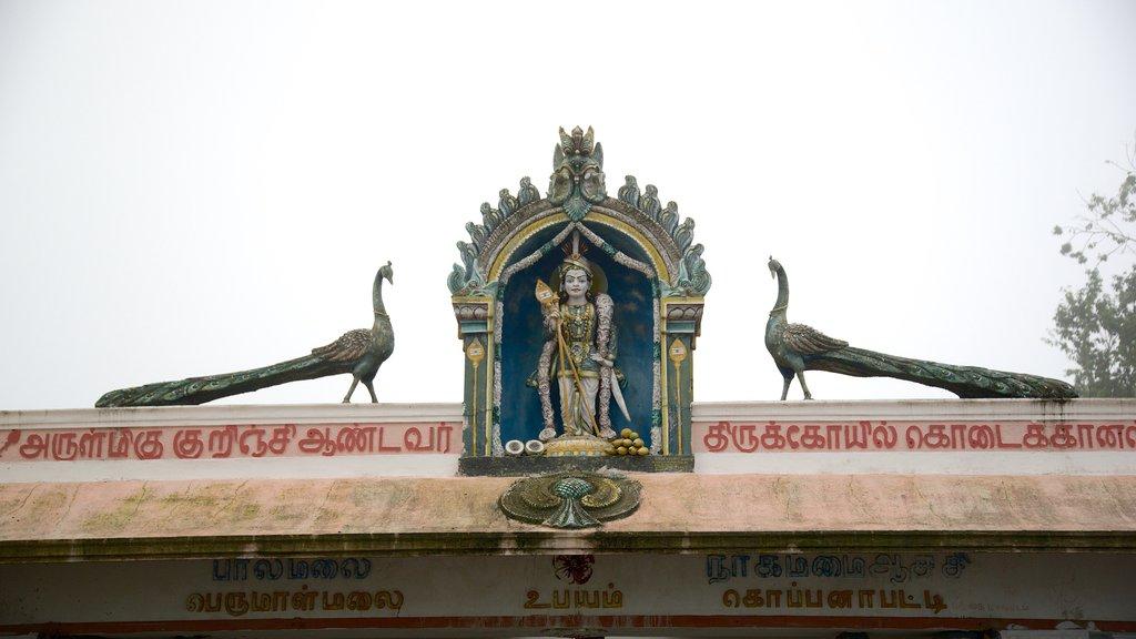 Kurinji Temple showing signage