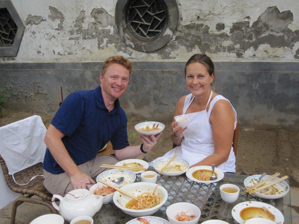 Verköstigung von chinesischem Essen
