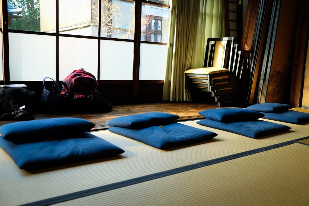 Entspannung in Japan, Tatami