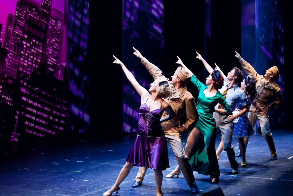 Fringe Festival Edinburgh Bühne Aufführung
