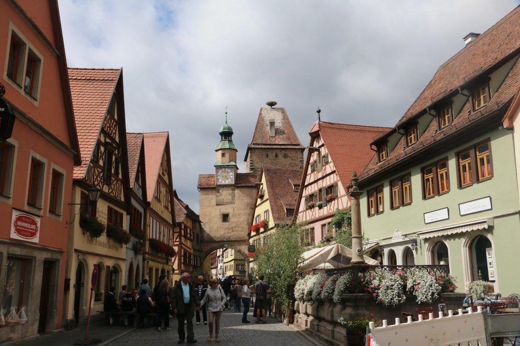 Straßen von Rothenburg, Altstadt