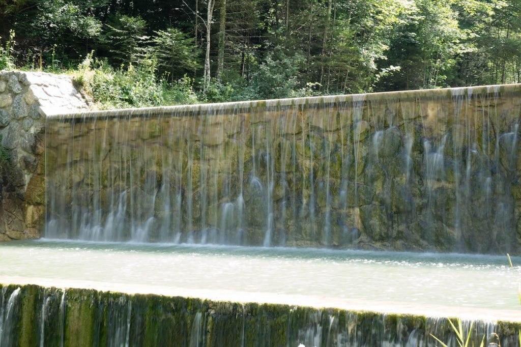 Jenbachfälle, München, Bayern, Deutschland