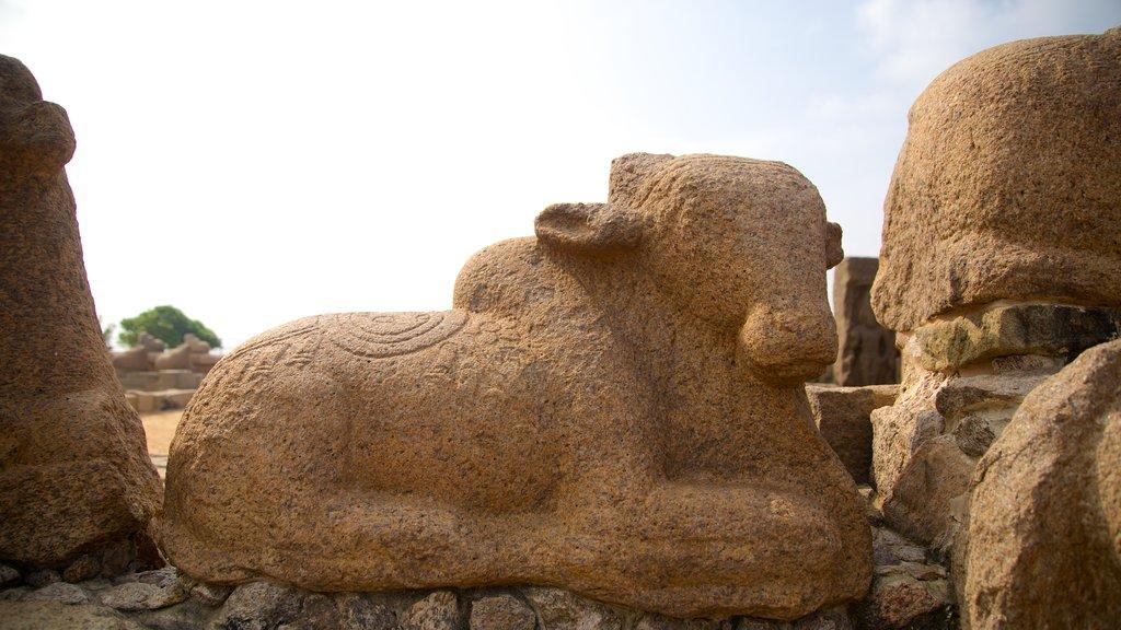 Templo de la Playa ofreciendo ruinas de edificios