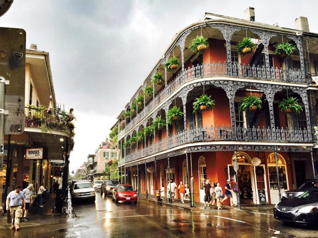 mlf_New Orleans_French Quarter_Summer Rain_Bethany Salvon New Orleans Satchmo-Festival