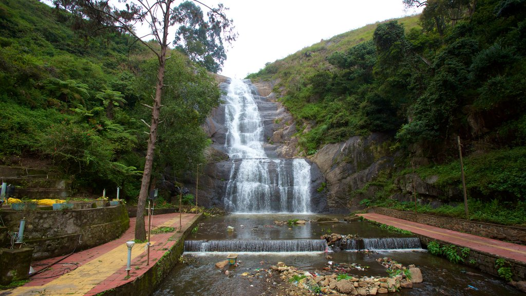 Silver Cascade featuring a waterfall and a river or creek