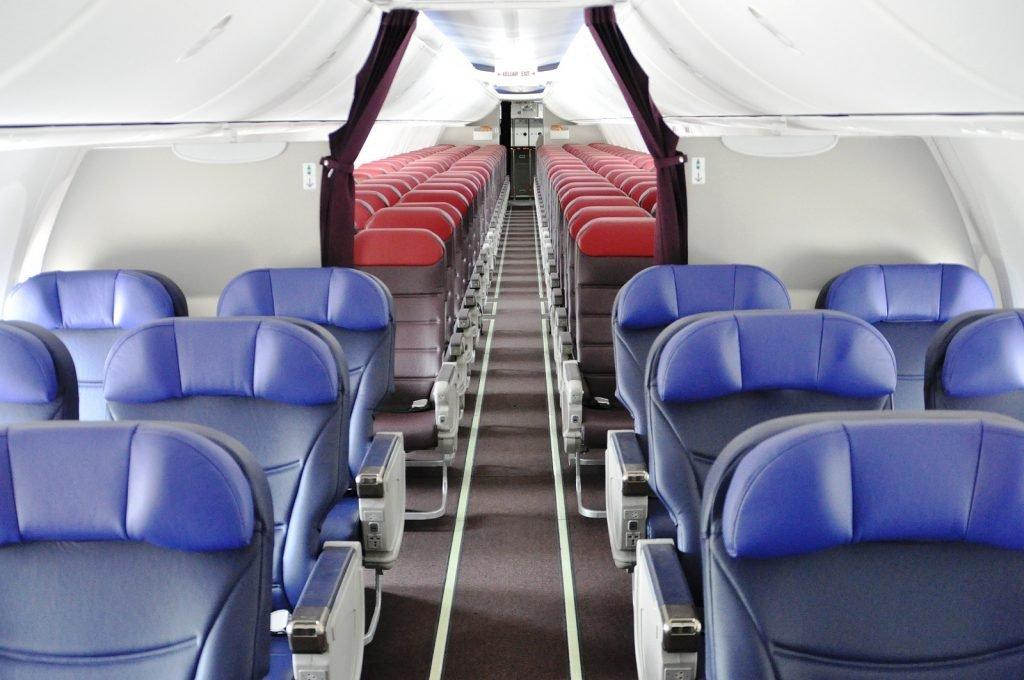 Zukunft des Reisens, Flugbuchungssystem, Sitze im Flugzeug