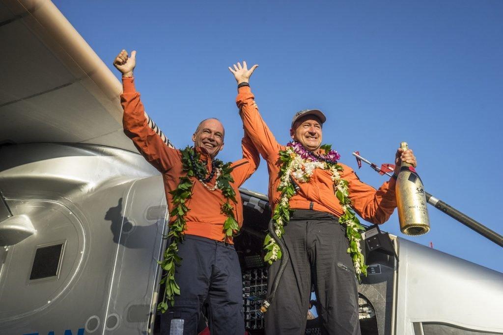 Bertrand Piccard , André Borschber, Solar Impulse 2,