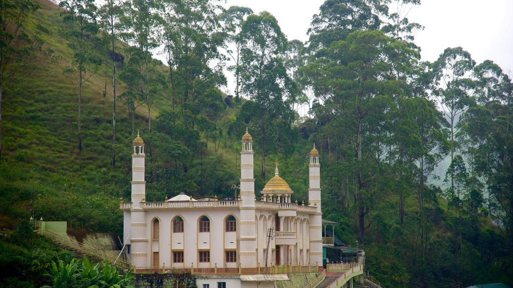 Munnar mostrando una mezquita