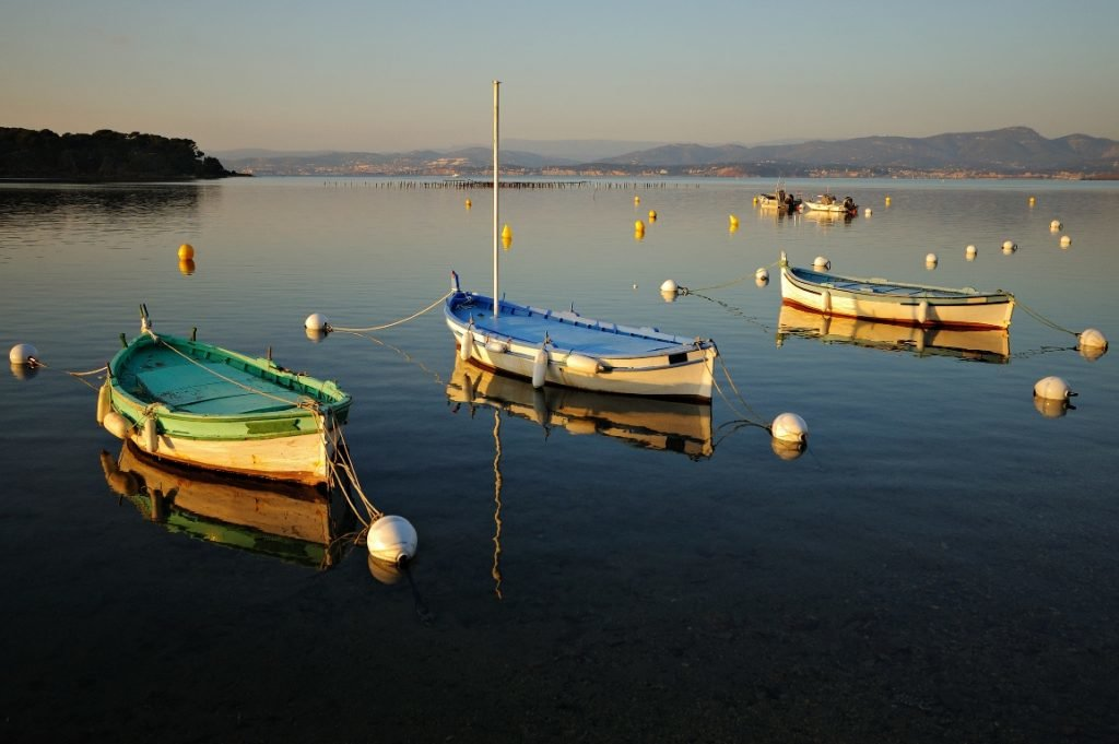 Boote, Reiseziel Frankreich