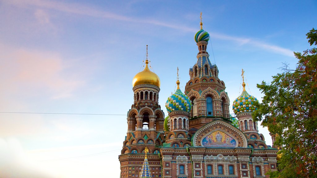 Church of the Savior on the Spilled Blood featuring heritage architecture