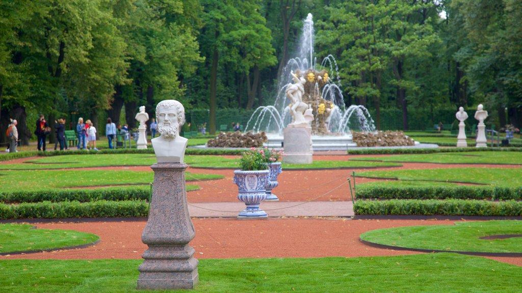 Summer Garden which includes a park