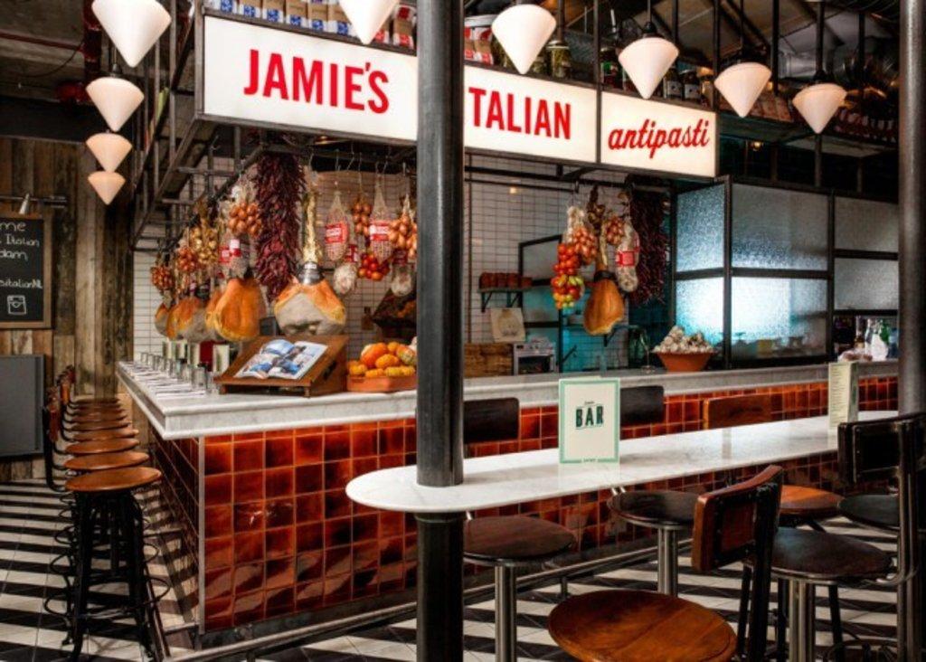 Jamie's Italian, Markthal in Rotterdam