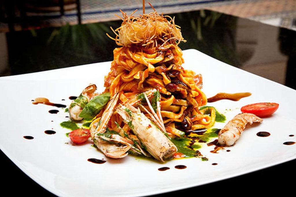 """Restaurant """"Pepe Nero"""": ein Restaurant mit exzellenter Küche für besondere Anlässe. © Nele Altenburg"""