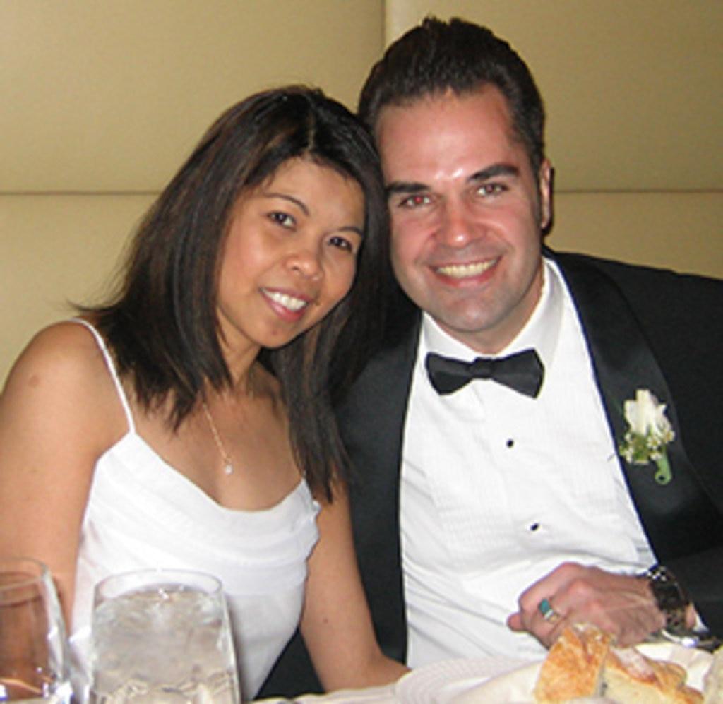 Vivian und Chris: wenig Vorbereitung, relaxte Hochzeit
