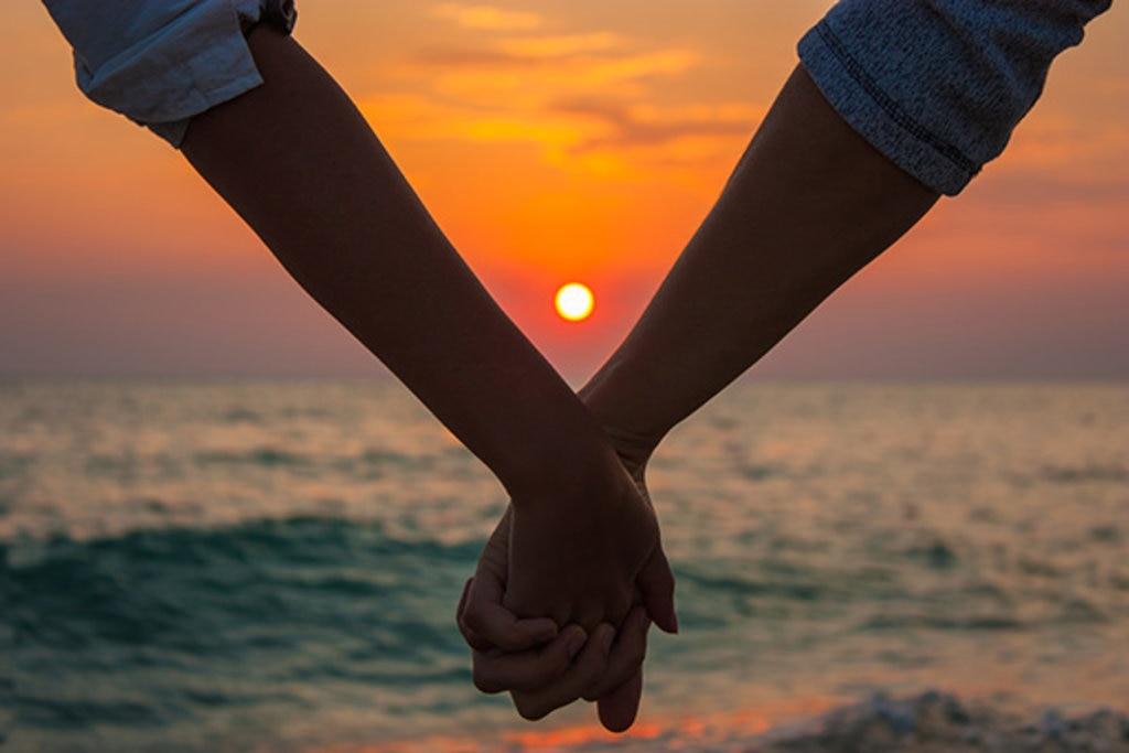 Die Sonnenuntergänge auf Zypern sind perfekt für Verliebte
